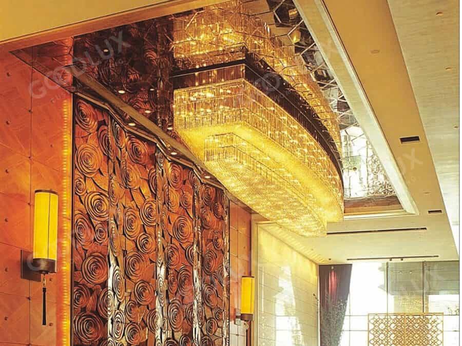 Custom Chandelier for Beijing Sofitel luxury hotel