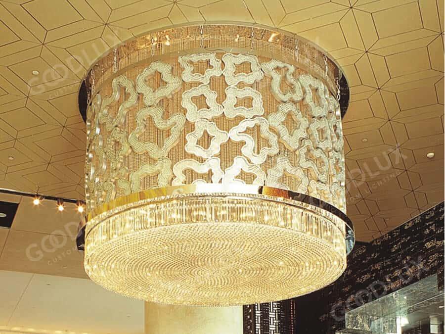 Cusotm Chandelier forBeijing Sofitel luxury hotel