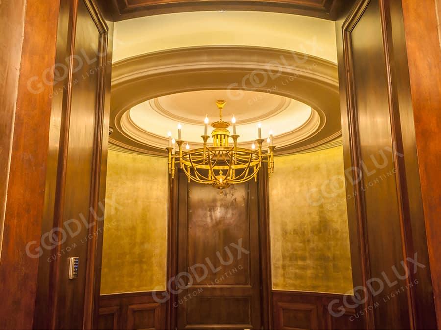 custom pendant light for Castle Hotel Dalian