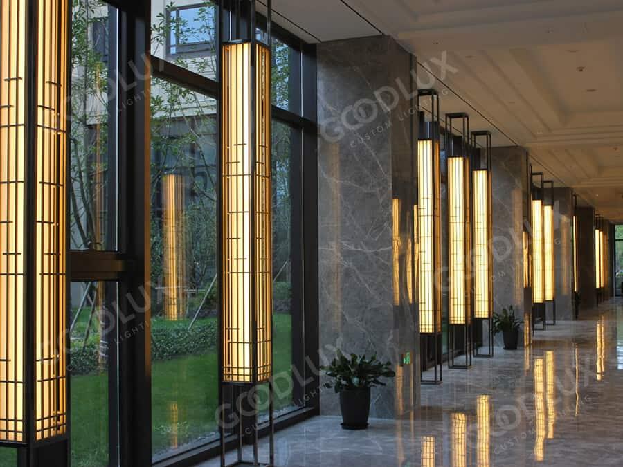 custom wall light for Crowne Plaza Shanghai