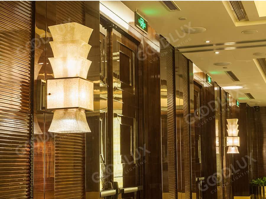 custom wall light for Four Seasons Hotel Beijing