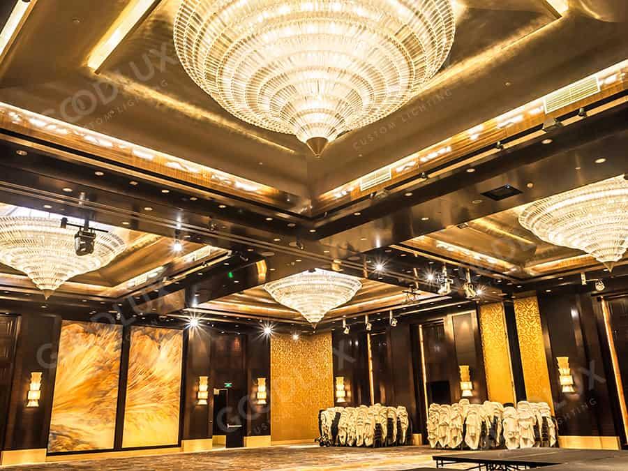 custom chandelier for Four Seasons Hotel Beijing