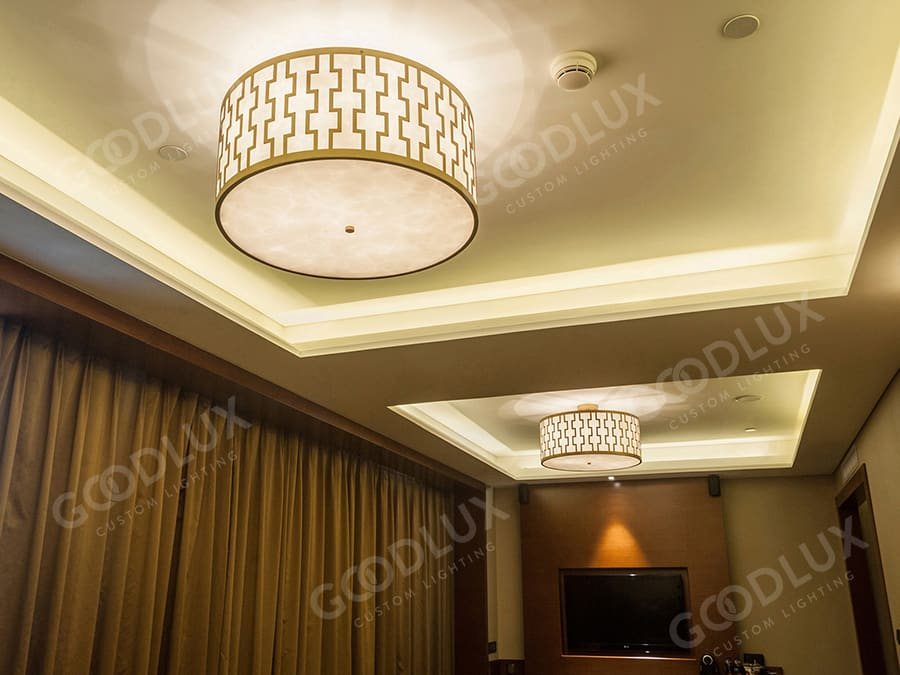 Goodlux custom lighting for Hilton Hotel Shenyang