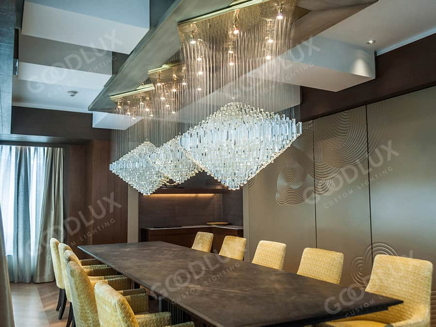 Custom lighting for Shangri-La Lhasa Hotel