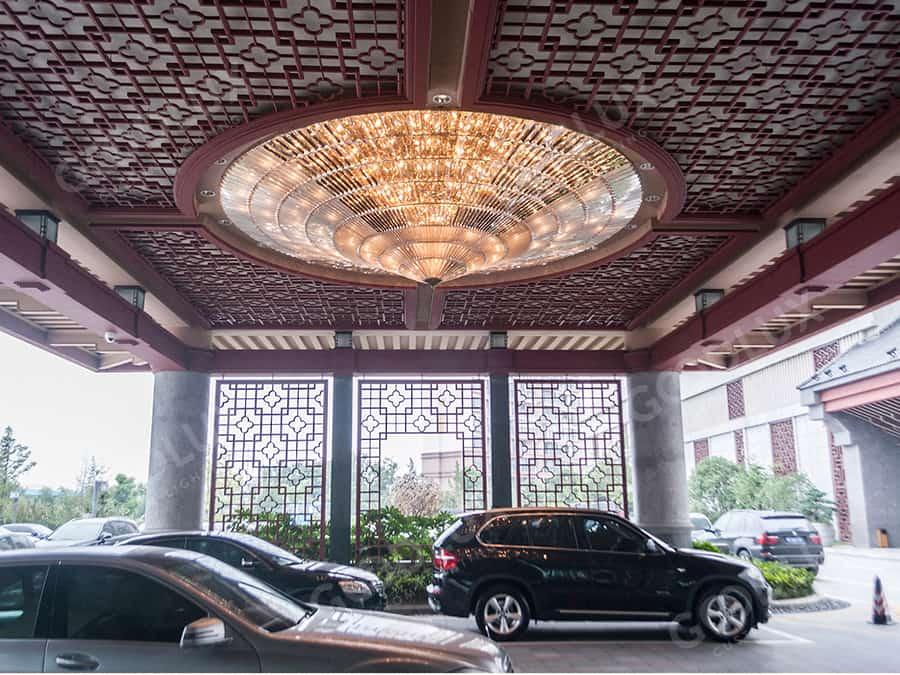 Goodlux custom lighting project Shangri-La Yangzhou Hotel