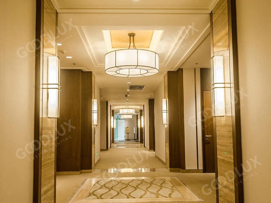 Goodlux custom lighting for Sheraton Bailuhu Huizhou Resort