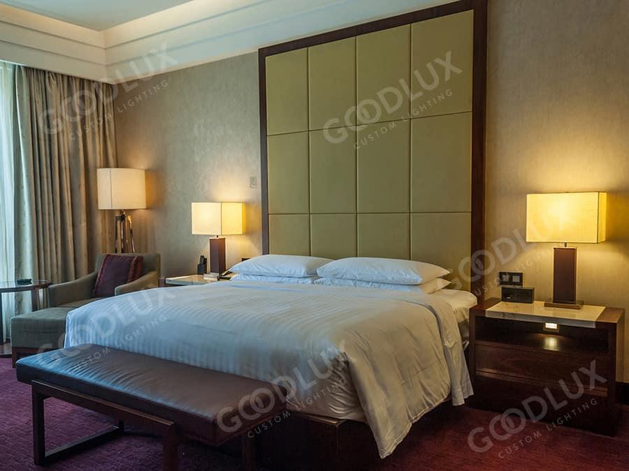 Goodlux custom lighting project Tianjin Jixian Shengguang Hotel