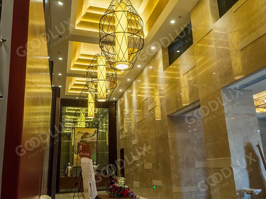 Goodlux custom lighting for Tianmu Hotspring Resort Hotel Nanchang